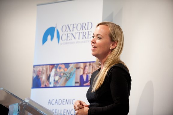 Amy Orr-Ewing at the Oxford Centre for Christian Apologetics