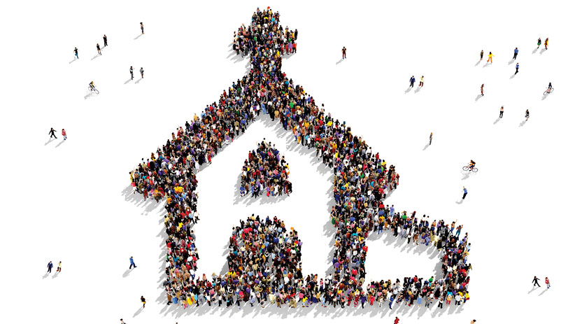 church made of people