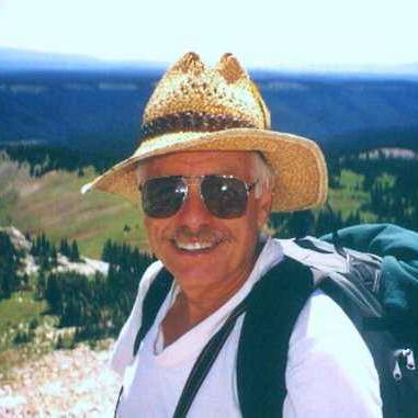 Tom Talbott hiking